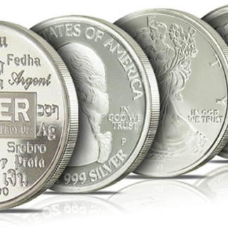 Silver Rounds - Designs of Our Choice