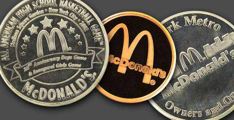 Coins Custom Minting - Beautiful Coins Custom Made to fit Your