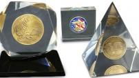 Custom Coin Acrylic Embedment