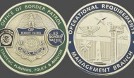 Border Patrol Military Challenge Coin