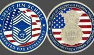 Chief Master Sargent Military Challenge Coin