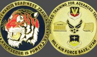 Air Force Tiger Military Challenge Coin