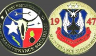 Texas Air Force Military Challenge Coin