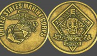 US Marine Corps Military Challenge Coin