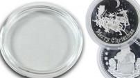 Custom Coin Acrylic Coin Capsules