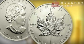 Canadian Maple Leaf Silver Bullion