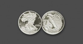 1/10-oz Walking Liberty Silver Bullion