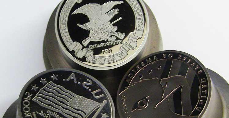 Custom Coin Information - Regency Mint Custom Coins Options & Styles