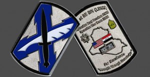 141st Bar Military Coins