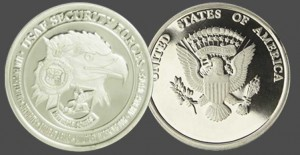 Air Force Security Military Challenge Coins