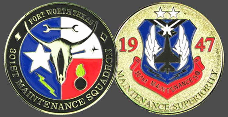 Military-Challenge-Coins-Maintenance-Squadron-Air-Force