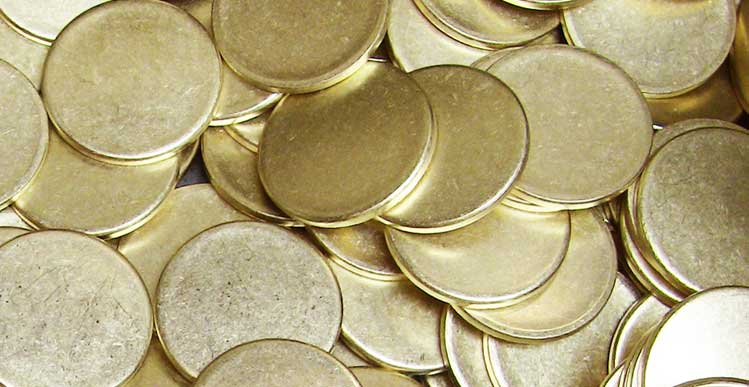 Brass Blanks - Brass Blanks Manufacturer for Coins & Medallions