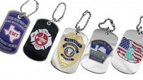 Dog Tags Metal Keychains Custom