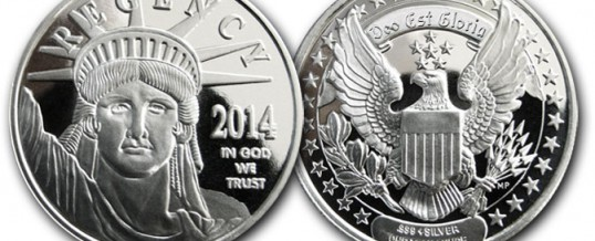 Regency Mint Announces New 2014 Silver Round – 2014 coin design